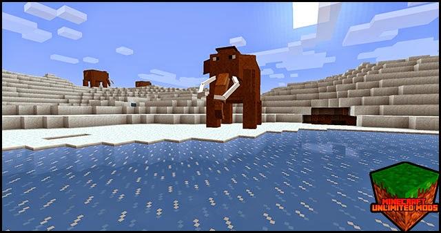 LotsOMobs Mod mamut