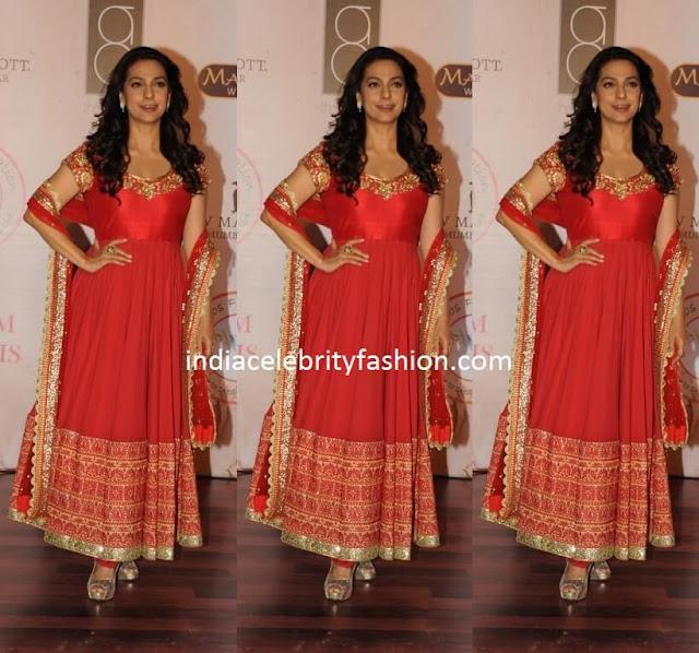 Juhi Chawla at Vikram Phadnis Fashion Show