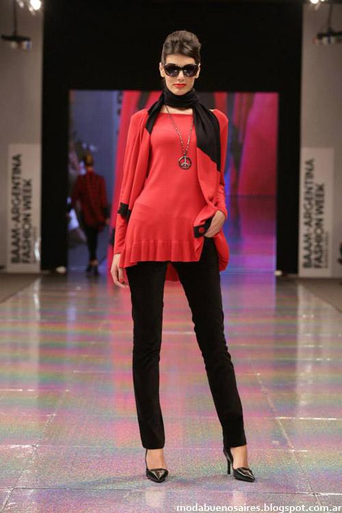 Adriana Costantini otoño invierno 2014 looks de moda casuales 2014