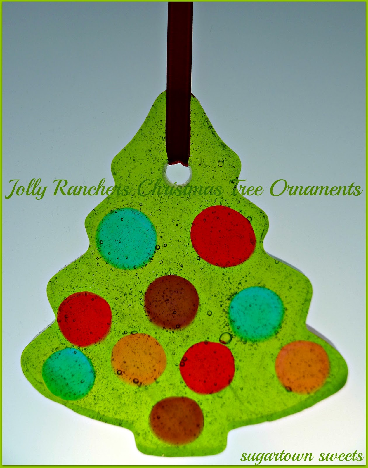 Sugartown Sweets Christmas In July Jolly Ranchers Christmas Tree