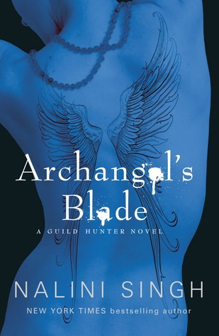 Book Cover.  Archangel's Blade