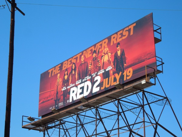 Red 2 film billboard