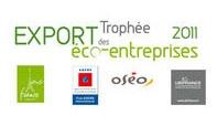 Le Trophée Export des Eco-entreprises, récompense 3 PME remarquables pour leur développement à l'international