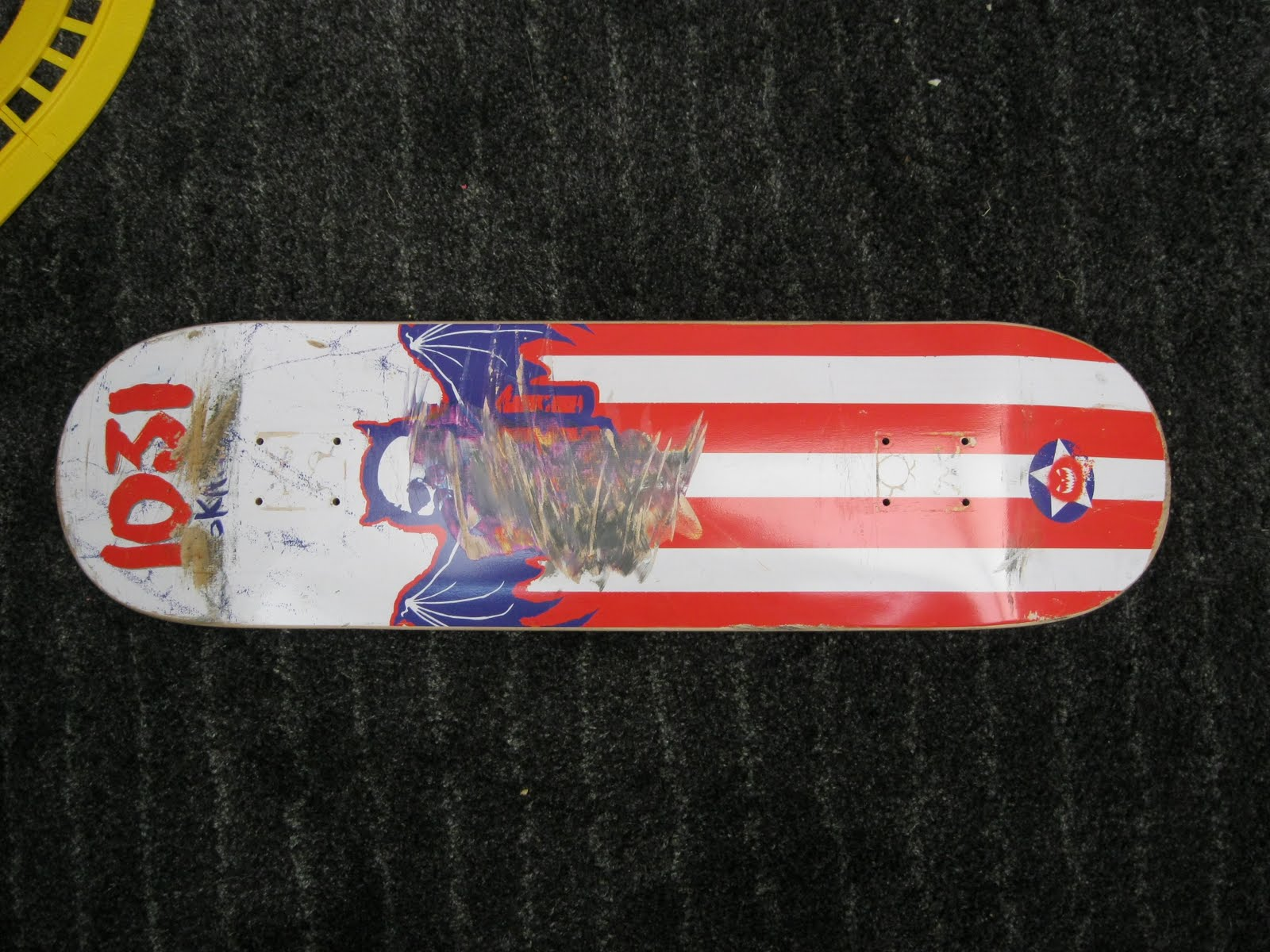 Skateboarding Is My Lifetime Sport Review 1031 Decks Deck Toy Machine Sect Eye Orange After A Year Of Riding The Creepy Crawly I Thought All Would Be Like That One Mellow Strong Good Pop Long Lived Sadly It Wasnt So