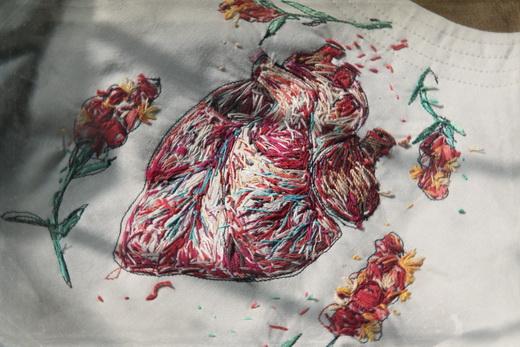 My Dalliance With Amazing Embroidery Karma Voce