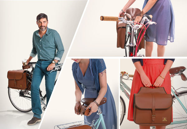 La vida en bici lady co y ramonas classic collection - Complementos para bici ...