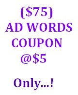 AD WORDS COUPON