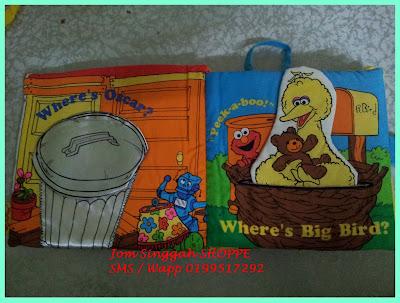 Softbook Elmo - Muka surat 1 & 2