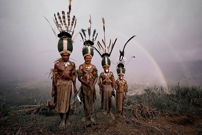 46 Must See Stunning Portraits Of The World's Remotest Tribes Before They Pass Away - Kalam, Indonesia and Papua New Guinea
