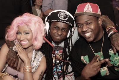 Lil Wayne, Mack Maine e Nicki Minaj