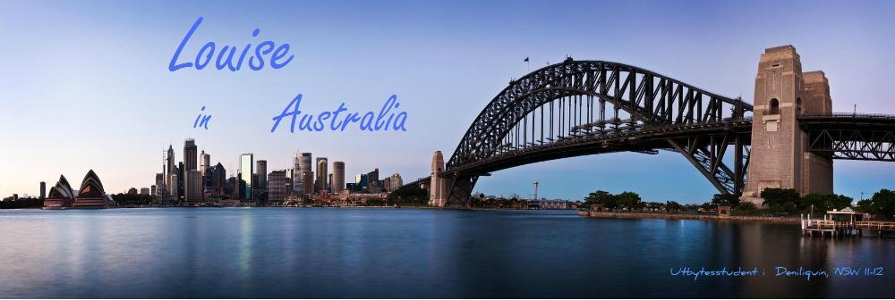 Louise in Australia