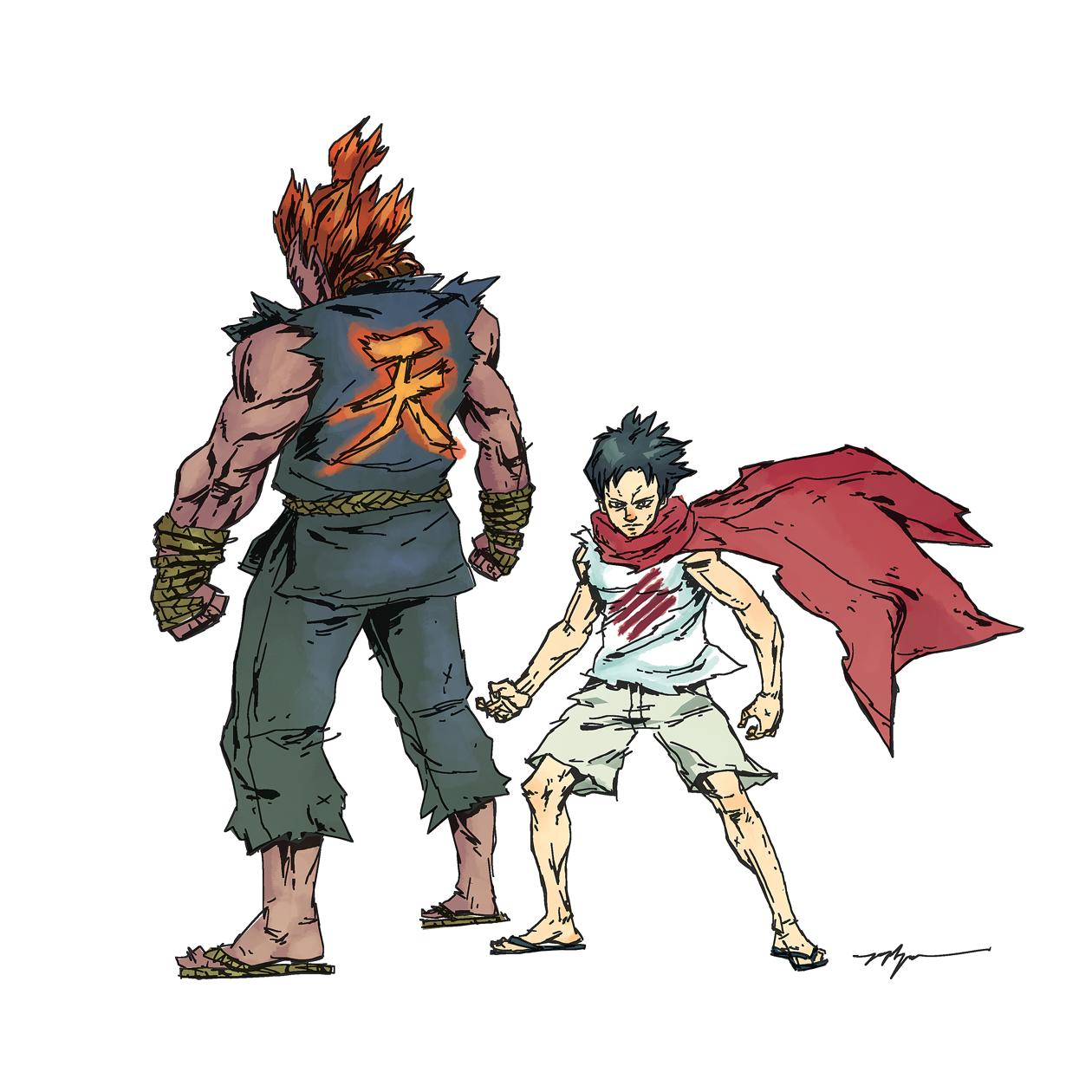 Tokido y Gouki