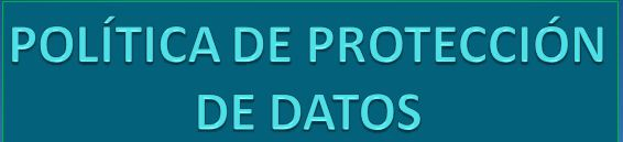 Política de protección de datos