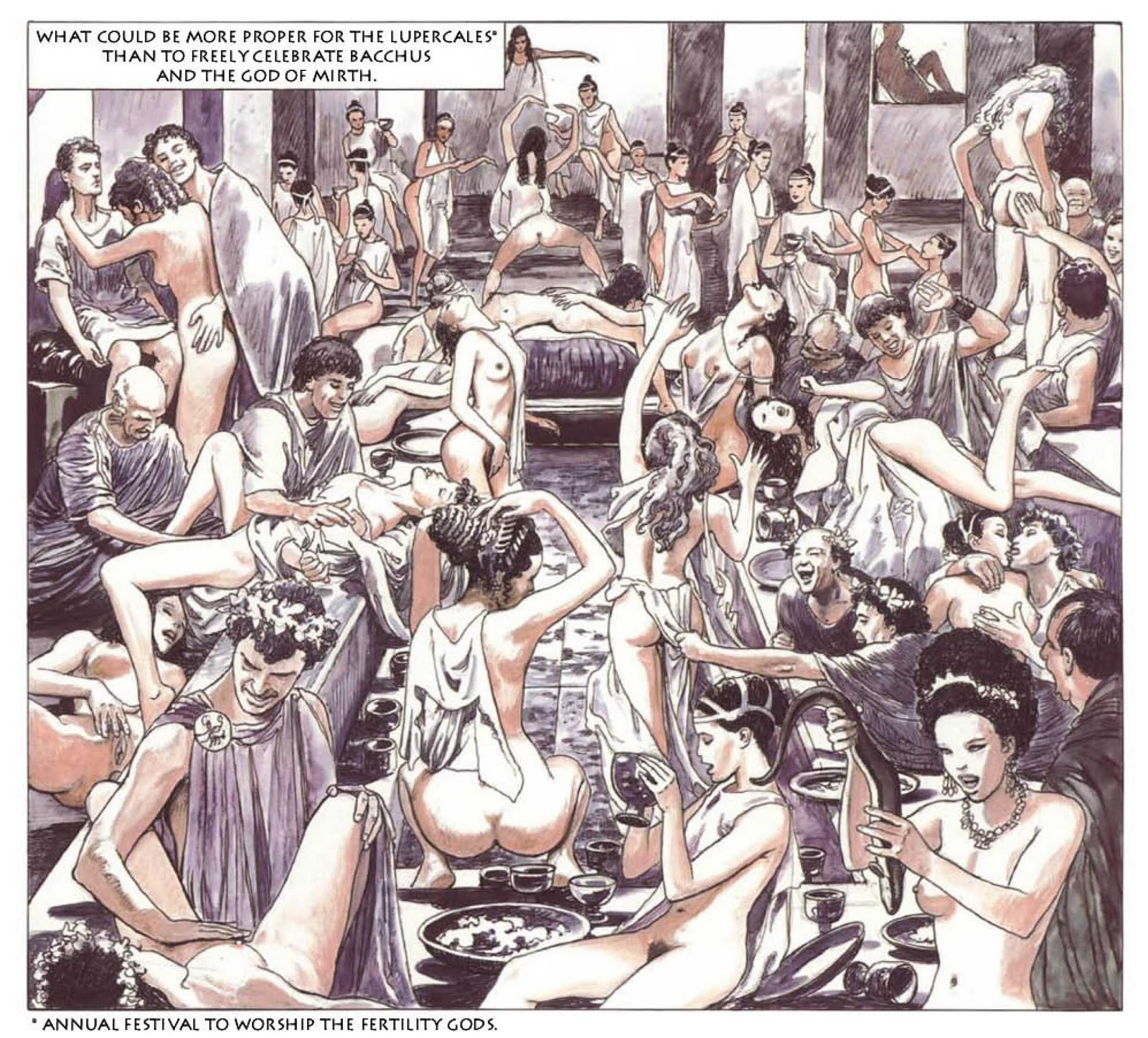 Римские оргии в порно 14 фотография