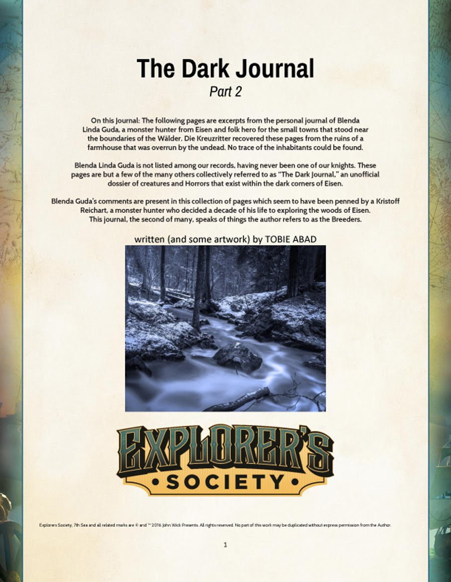 The Dark Journal - Part 2