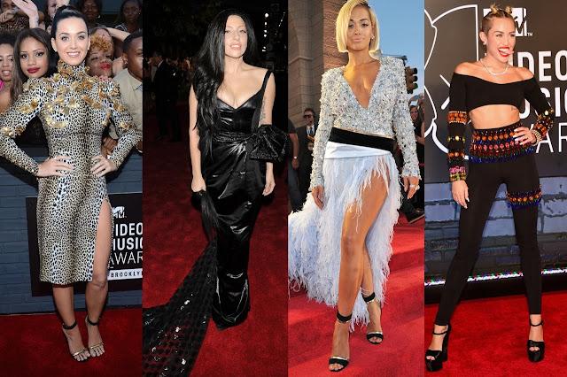 Veja fotos dos artístas com os trajes da moda, que mais fizeram sucesso no VMA 2013.