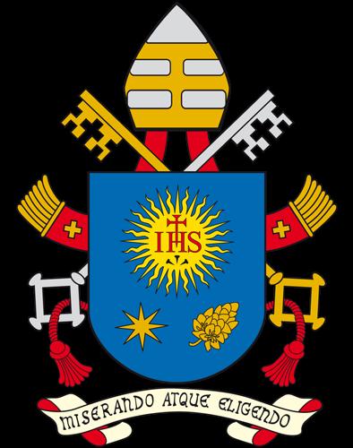 Blason pontifical François