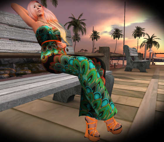 SL Outfit of the Day - InkHeart, little bones, Barely Legal Couture, POUDRE SKINS, Lumae, MELONopolis, A:S:S deLuxe, Pure Poison, LaVian&Co, faMESHed, We <3 Role Play - Second Life Fashion