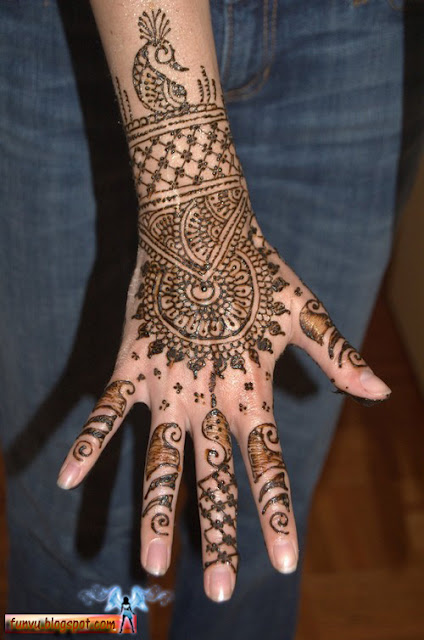 Mehndi Designs And Hairstyles : All types of mehndi styles
