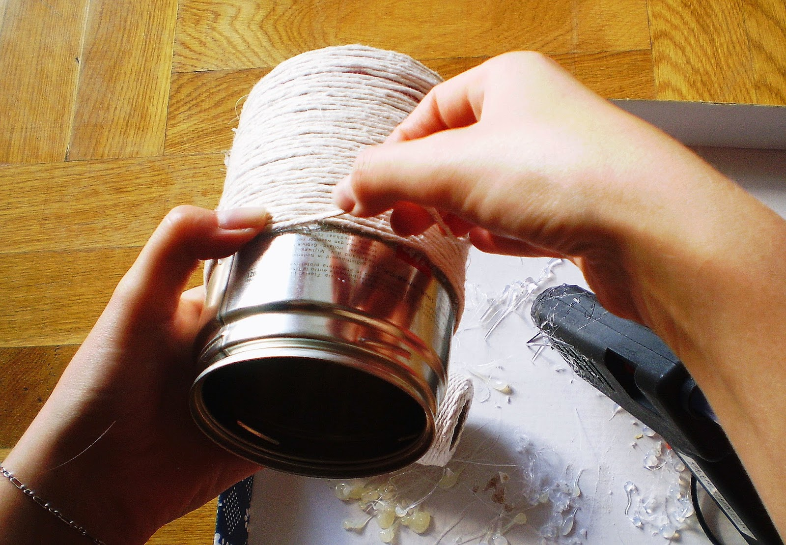 puszka po kawie