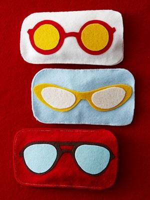 como hacer funda para gafas