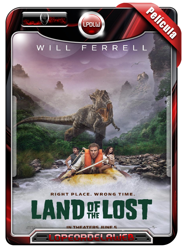 Land Of The Lost (2009) | La Tierra Perdida | 720p Dual Mega