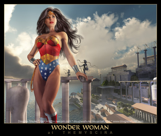 WONDER WOMAN por DouglasShuler