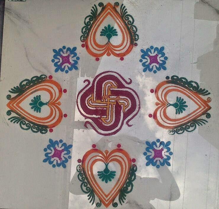 Yojna Kalaskar Kolam Designs 7