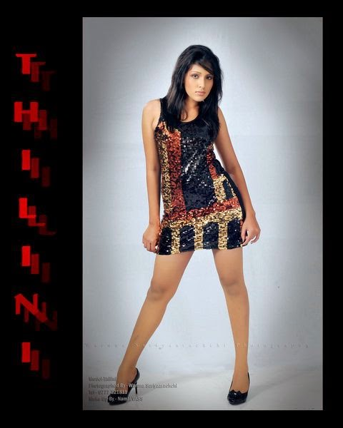 Thilini Amarasooriya short dress