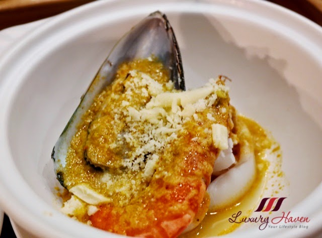makan kitchen baked seafood coconut cheese review