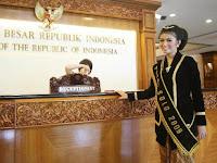 Calon menantu Jokowi bernama Selvi Ananda