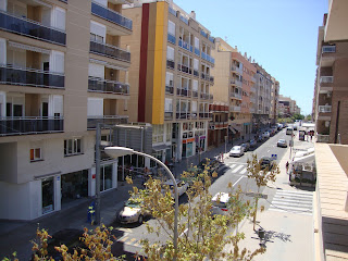 Sant Carles de La Rápita Avenue and buildings