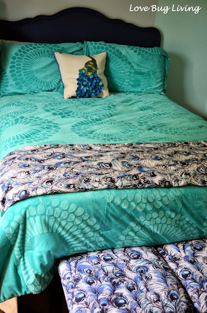 Love Bug Living: Peacock Blanket & Find out How to Make ...