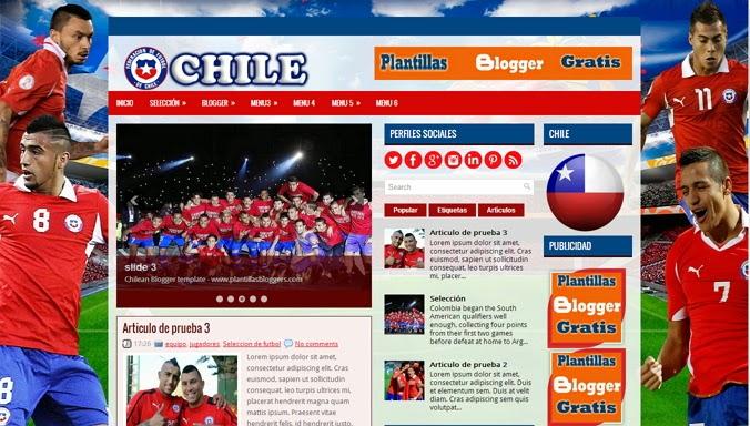 Chilean Blogger Template