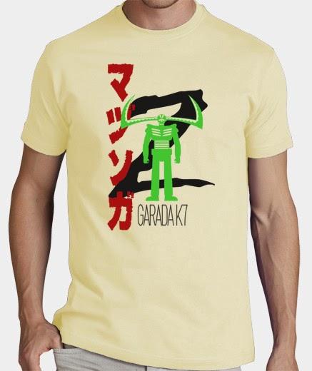 camiseta garada k7 mazinger z