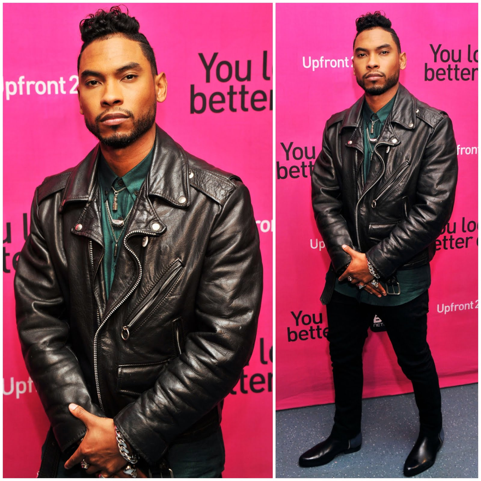 00O00 Menswear Blog Miguel at BET Networks New York Upfront April 2013