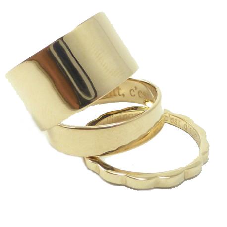 Desire: Delphine Pariente rings
