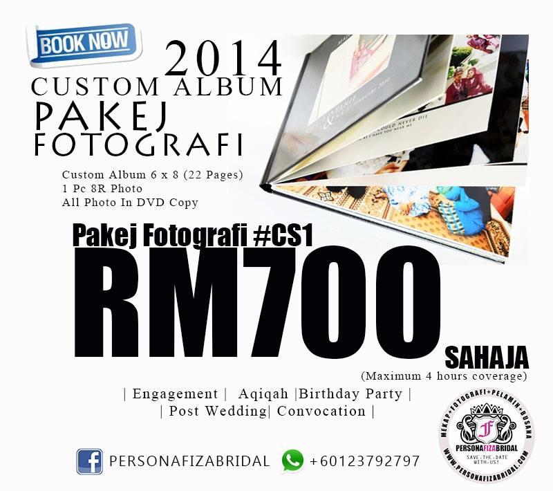 Pakej fotografi murah 2015
