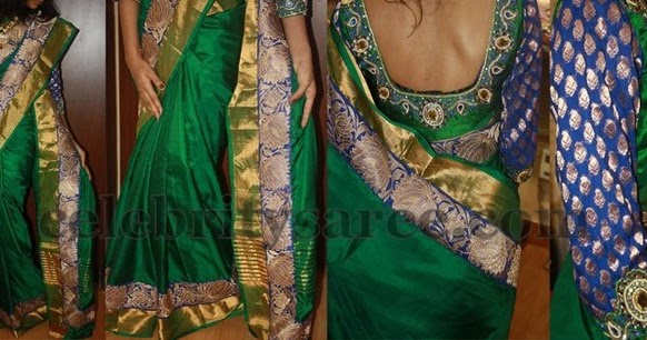 Bridal blouse designs latest celebrity