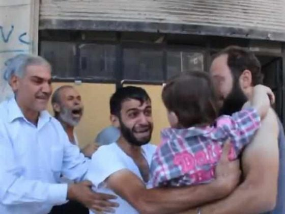 The Sweet Moment A Father Found Out His Daughter Was Still Alive After Bombing In Syria