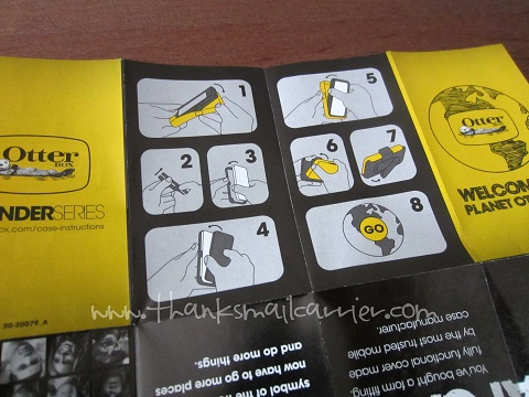 OtterBox instructions
