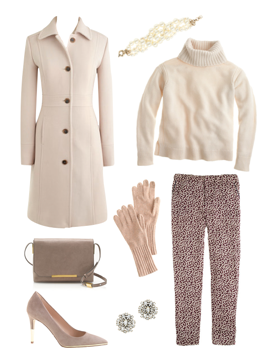 j crew winter white