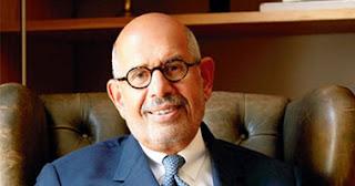 محمد البرادعي يستقيل من منصب نائب رئيس مصر