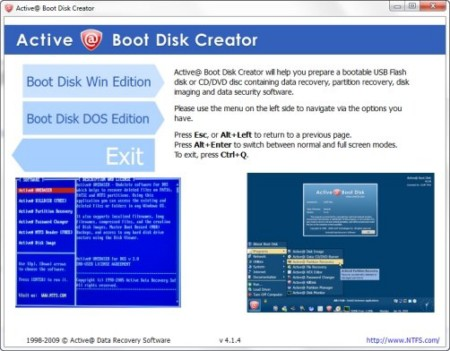 Active Boot Disk Suite 5.1.3 | FREE SOFTWARE DOWNLOAD
