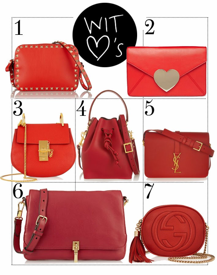Wearing It Today: How to wear a red bag