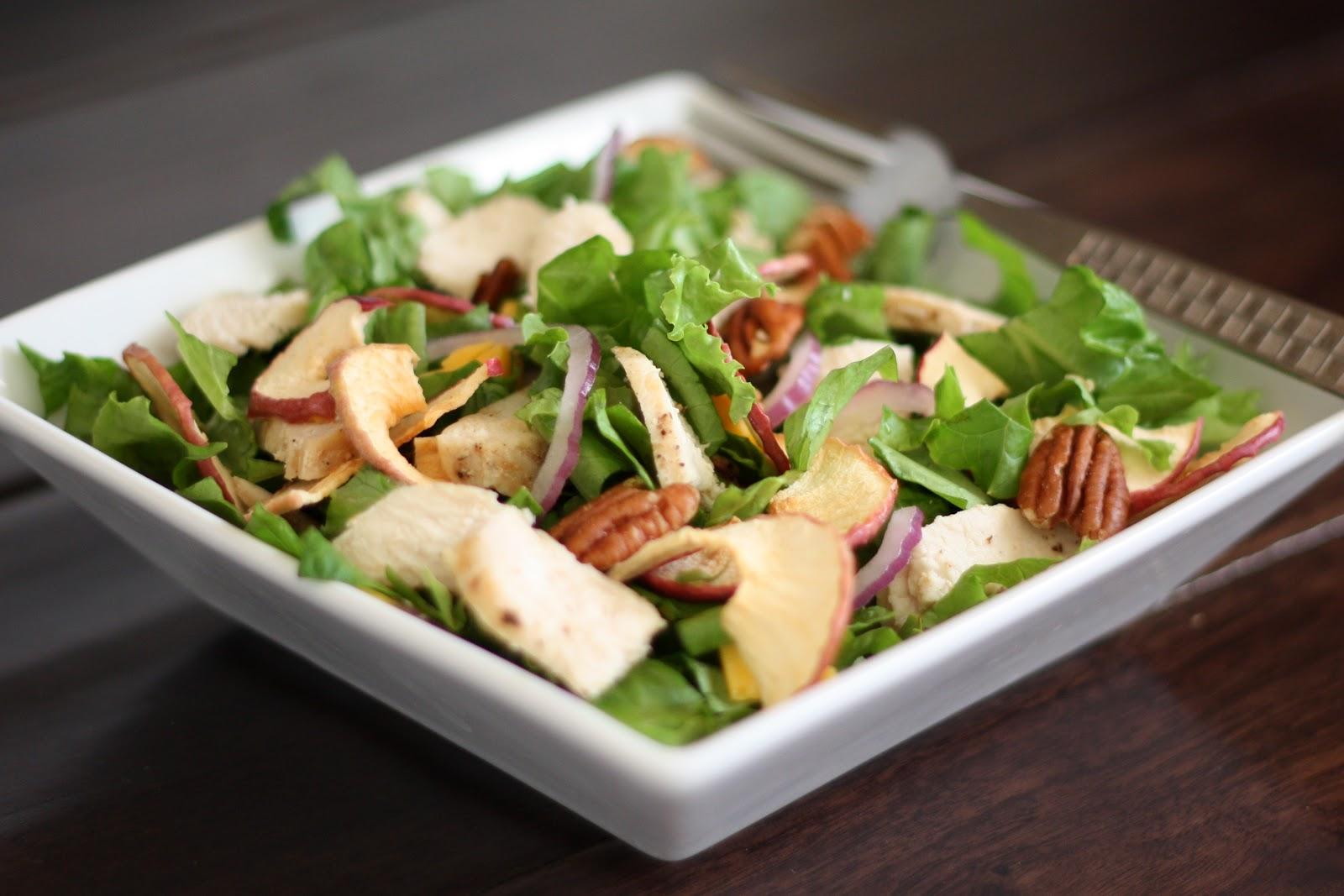 Barefeet In The Kitchen: Fuji Apple Chicken Salad