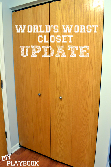 World's worst closet update