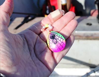 walleye spinner that landed big pike