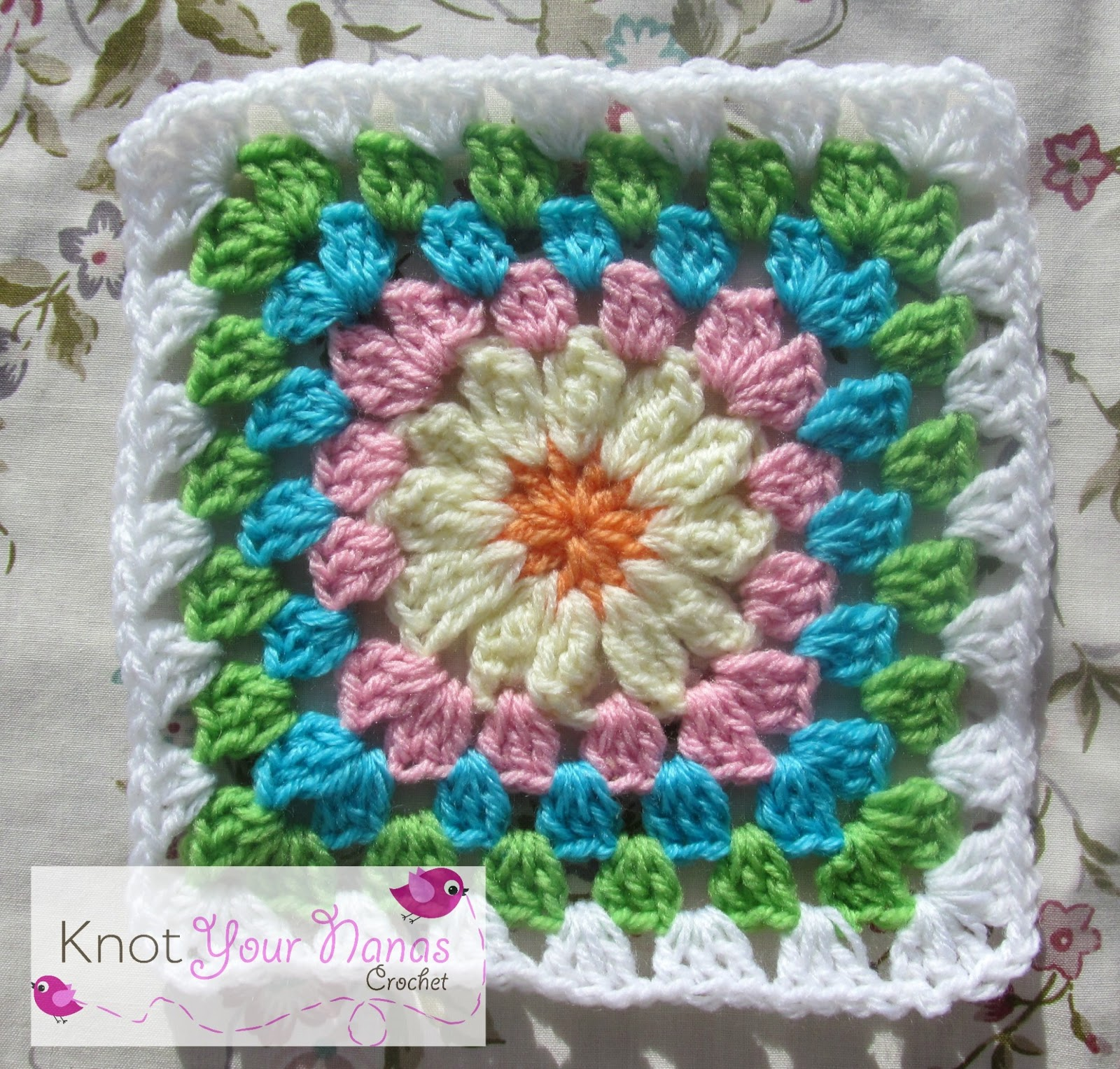 Granny Square Pattern | New Calendar Template Site
