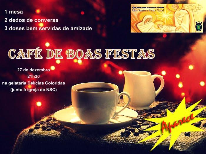 Café de Boas Festas